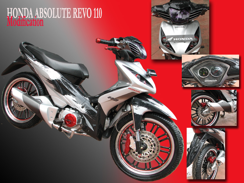 referensi modifikasi motor honda revo fit