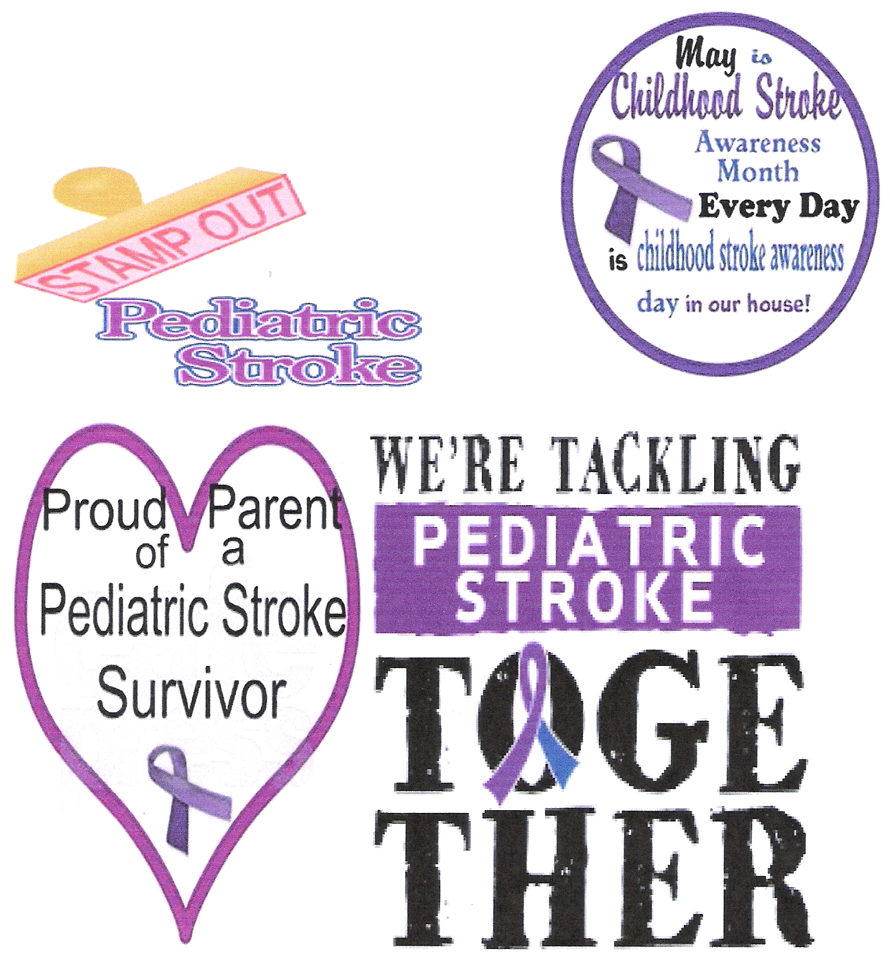 Pediatric Stroke Survivor Since 2002
