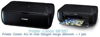 Spesifikasi Printer Canon Mp287 All-in-One printer cano