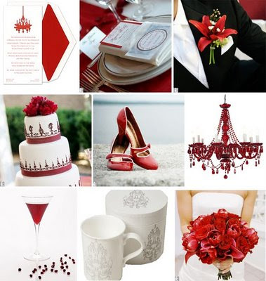 red and white wedding themes. Red And White Wedding Themes.