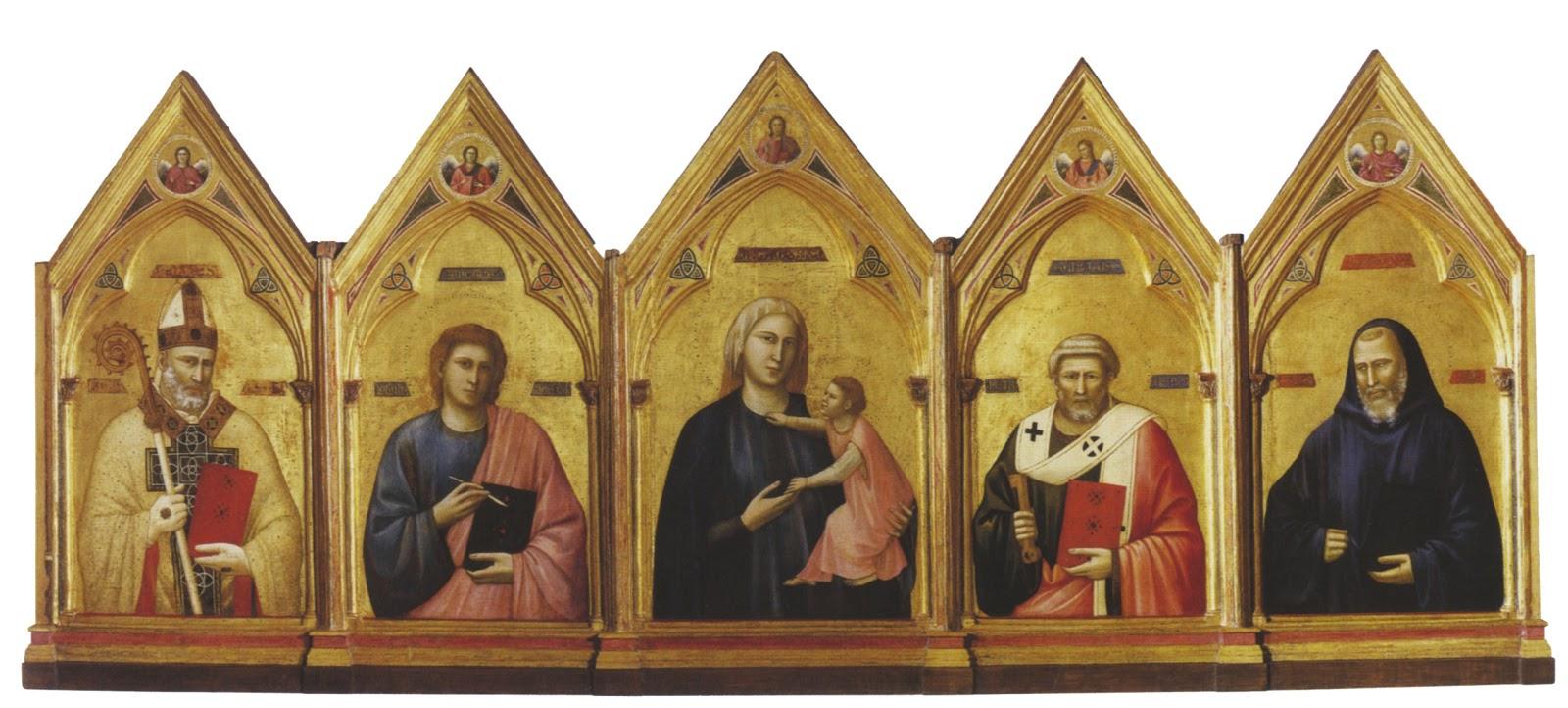 arte senza confini: giotto, l'italia - Soggiorno Di Giotto A Napoli 2