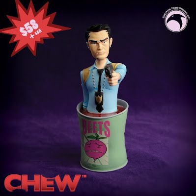 CHEW Tony Chu Mini Bust by Skelton Crew Studio