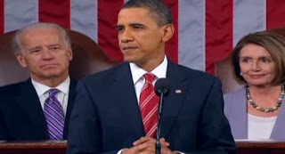 Picture from Obama's 2010 State of the Union Address