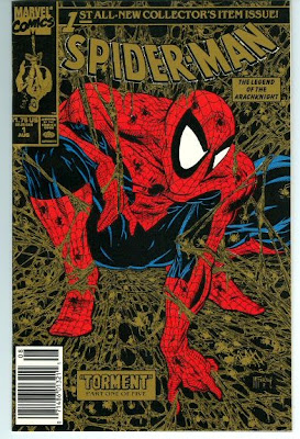 Spider-Man #1 Gold with UPC