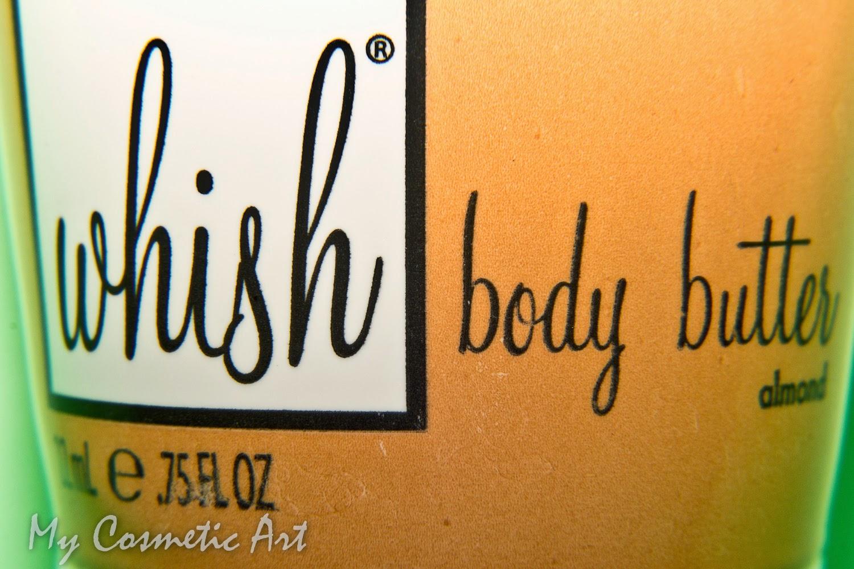 ¡Pedid tres deseos! La manteca corporal de almendra de Whish.