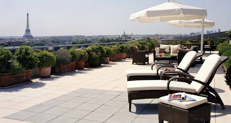 H tels de r ve la suite royale belle toile de l 39 h tel meurice paris - La plus belle etoile ...