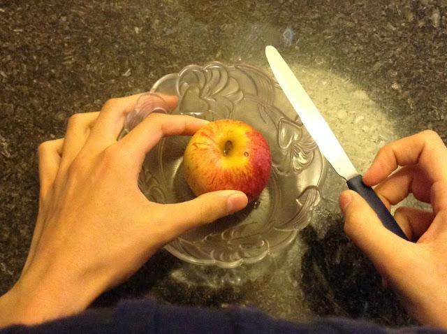 Torta de maçã rápida