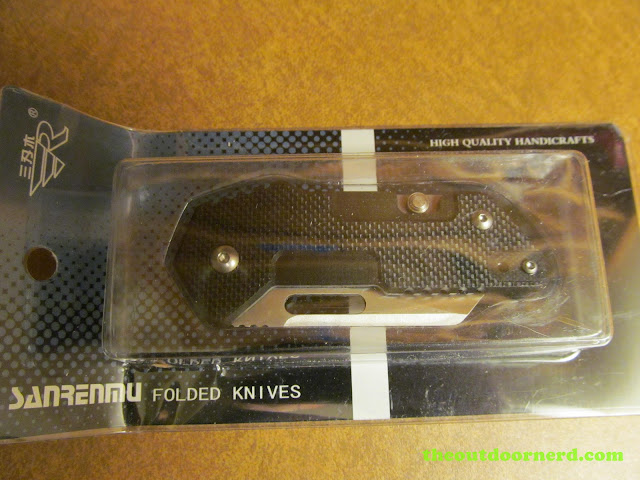 Sanrenmu GB-T11 Pocket Knife - in box