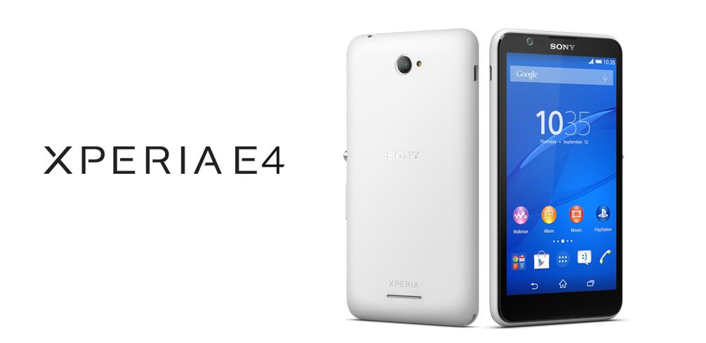 Xperia E4, Handphone Terbaru Sony Harga Murah Terjangkau