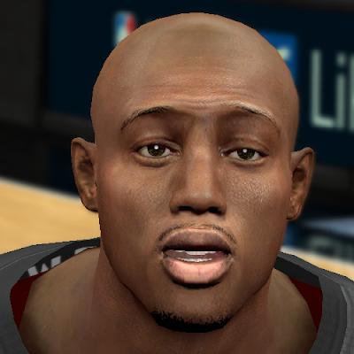 NBA 2K14 Travis Outlaw Cyberface Patch