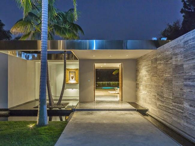 Casas minimalistas y modernas accesos a viviendas for Viviendas estilo minimalista