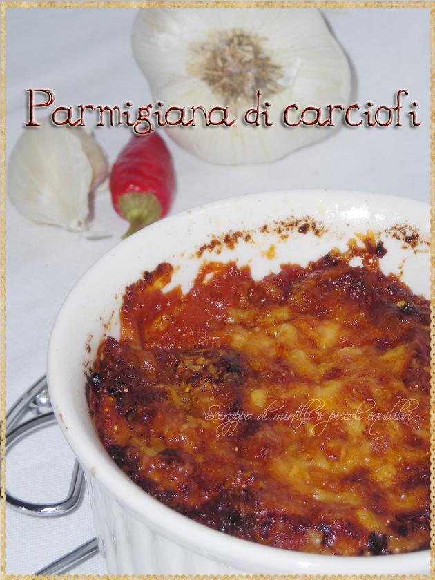 Carciofi alla parmigiana