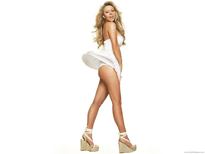 American Model Mariah Carey Wallpaper-1600x1200