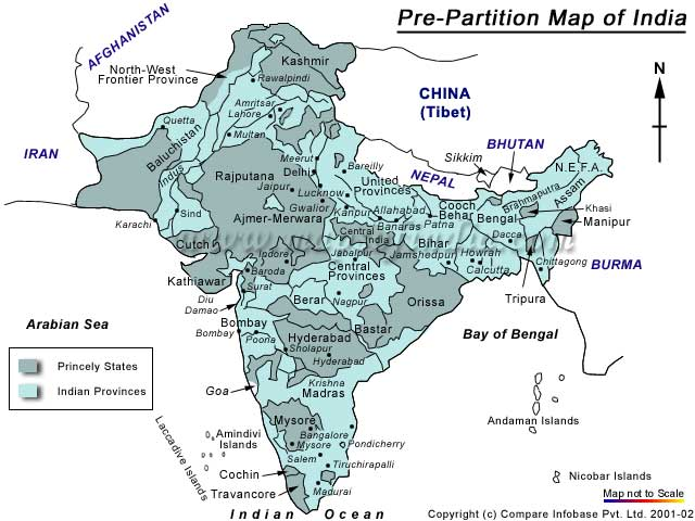 partition between india and pakistan essay