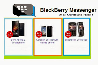 Blackberry Messenger for android and iPhone's