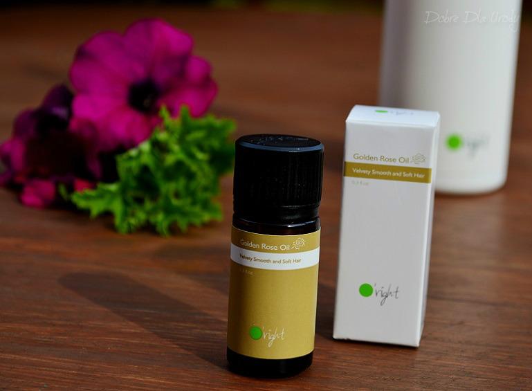 Golden Rose Oil Velvety Smooth and Tender Hair to odżywczy olejek do pielęgnacji włosów farbowanych i zniszczonych