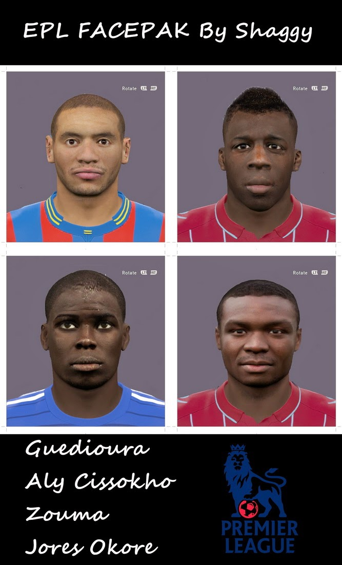 PES 2015 Epl Facepack by Shaggy