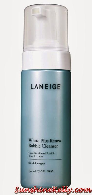 New Laneige White Plus Renew Range, laneige, Laneige White Plus Renew, bubble cleanser, korean skincare, korean beauty