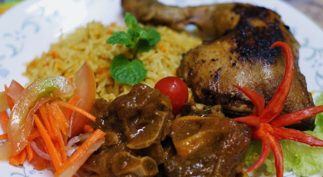 Resepi Nasi Beriani Ayam