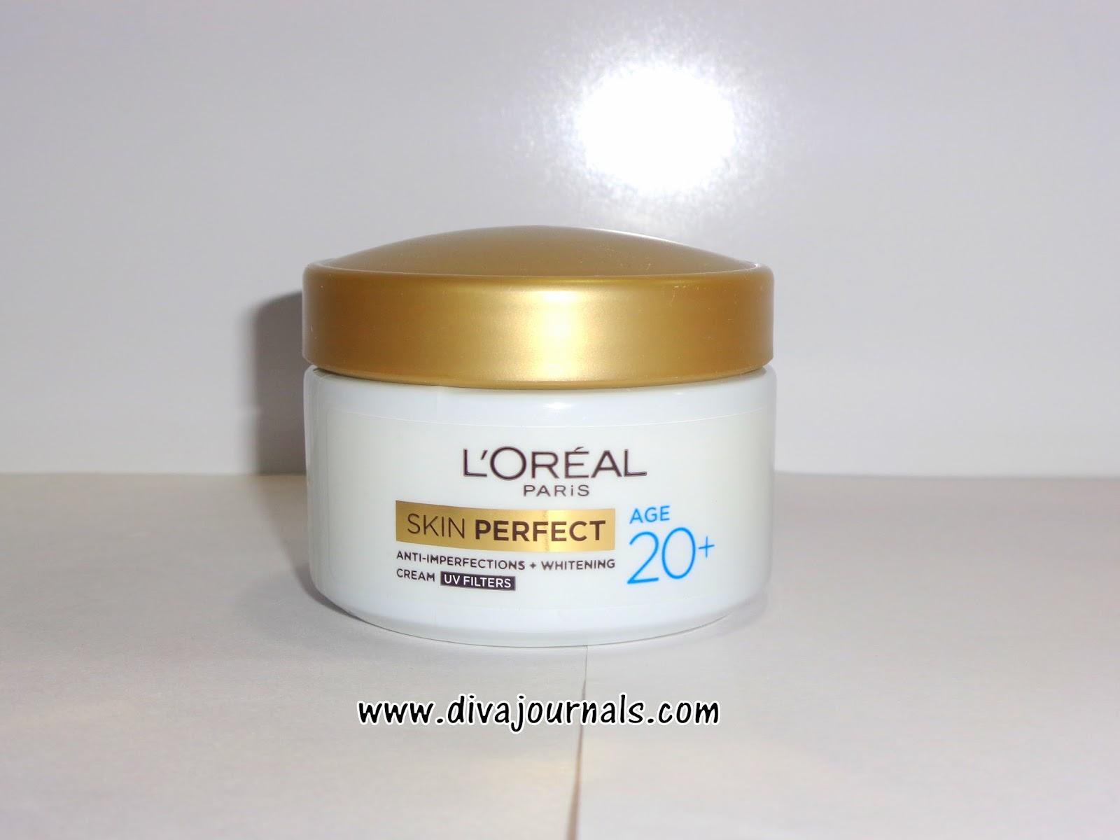 L'oreal Paris Skin Perfect Age 20+ Cream Review