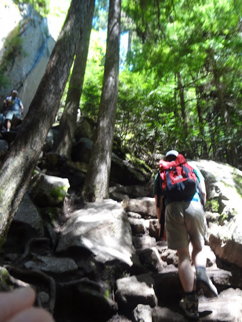stawamas chief trail roots and rocks