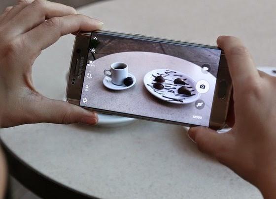 Câmera do smartphone Samsung Galaxy S6 Edge  tem bom foco e equilíbrio de cores