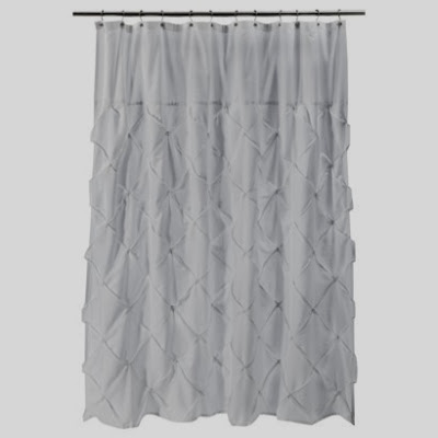West Elm Pintuck Shower Curtain