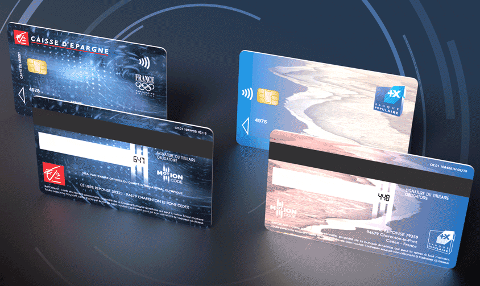 Cartes Caisse d'Épargne et Banque Populaire