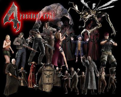 cover Game Resident Evil 4 untuk PC Full Version