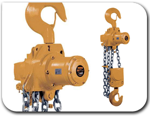 JD Neuhaus Air Chain Hoists