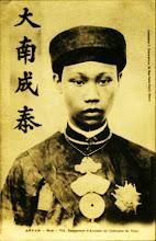 Vua Thành Thái  (1889 - 1907)  Huý: Nguyễn Phúc Bửu Lân