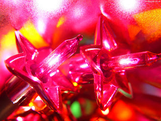 Free Download Close Up Christmas Lights Wallpaper