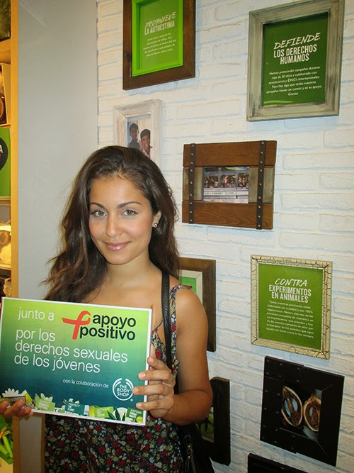 Hiba Abouk colabora con The Body Shop y Apoyo Positivo