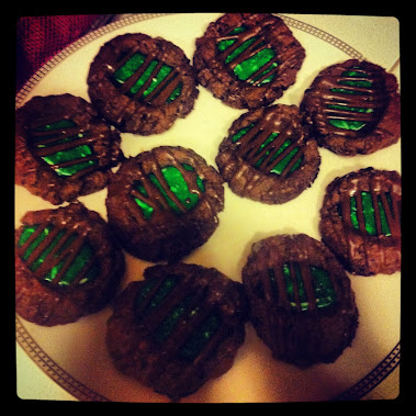 THIN MINT CHOCOLATE COOKIES