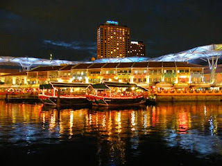 Boat Quay dan Clarke Quay