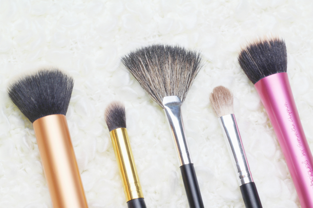 real techniques buffing stipiling brush review