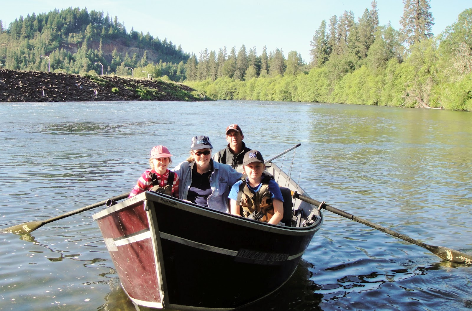 Summer vacation summer steelhead rogue river fishing for Rogue river fishing report