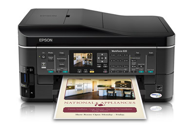 Download EPSON WorkForce 633 Driver & Software for Windows