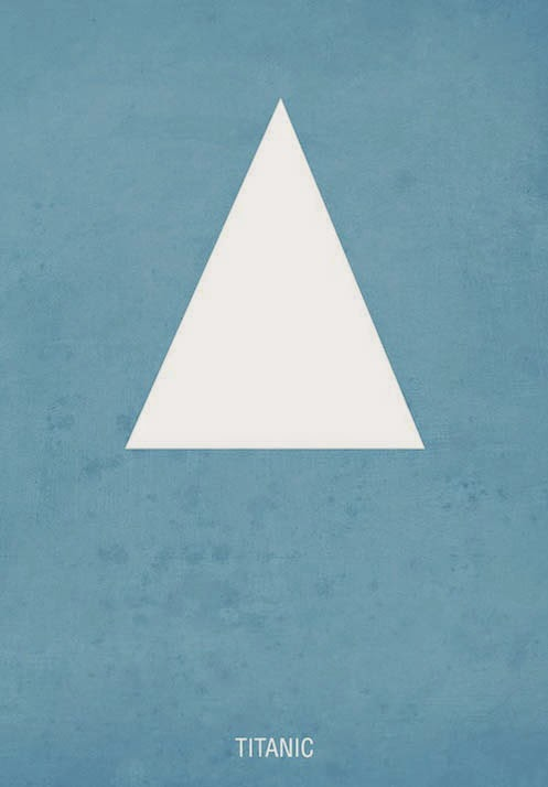 Minimalist Movie Poster Titanic