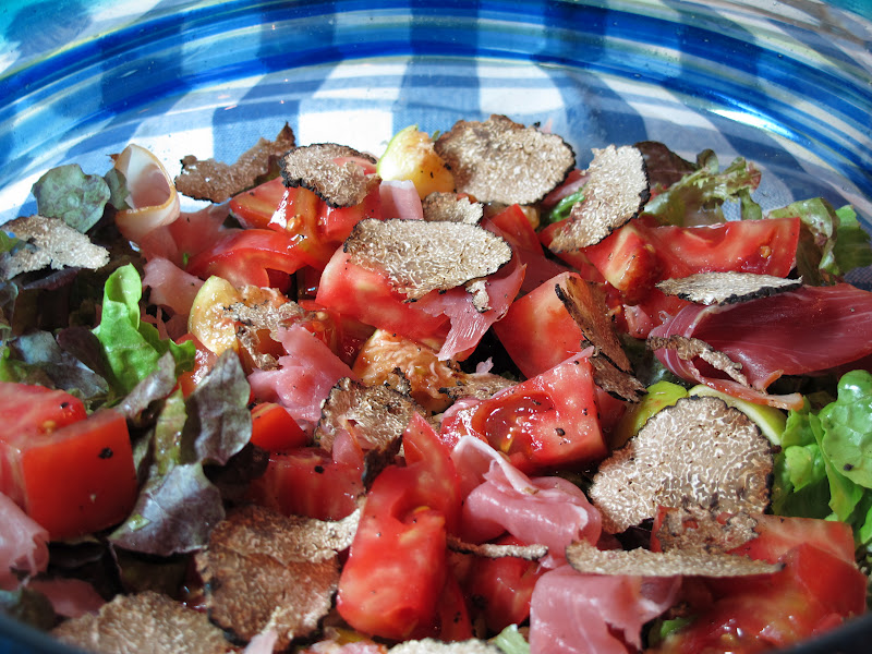 Confessions Of A Culinary Diva Black Summer Truffle Salad