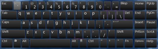 Как вызвать экранную клавиатуру windows 7?
