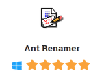 Ant Renamer 2015 2.11.0 Free Download