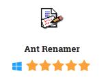 Ant Renamer 2016 Free Download
