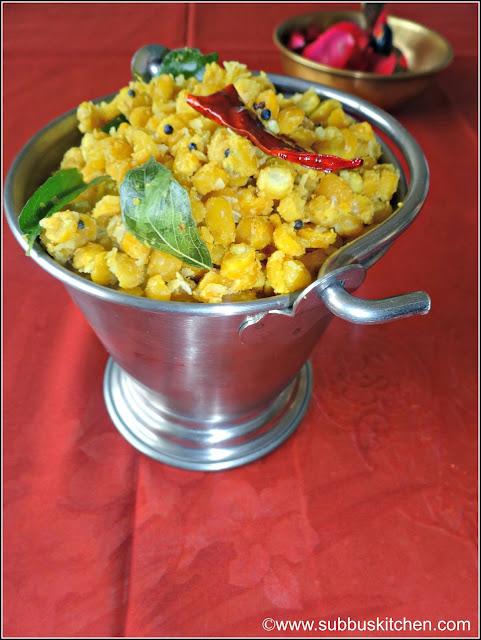 Navarathri Sundal Recipes | Gram Dhal Sundal