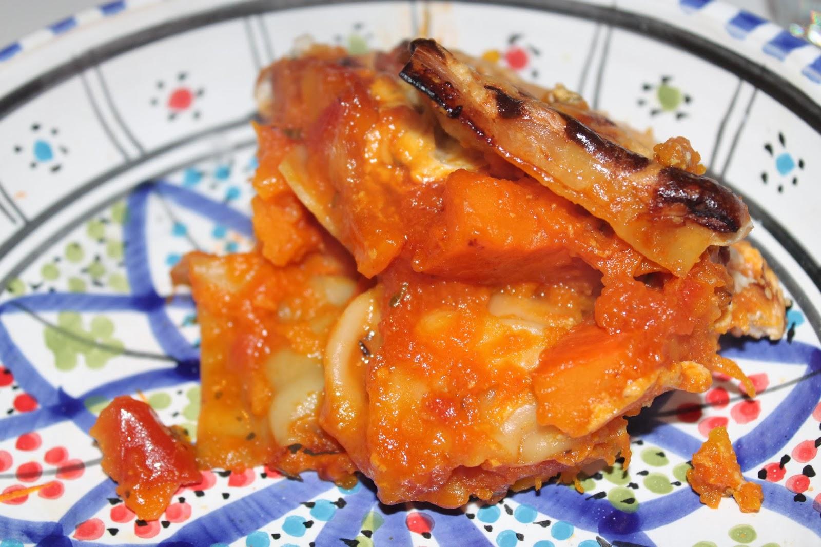 Recettes faciles rapides lasagnes au roquefort et potiron - Lasagne facile et rapide ...