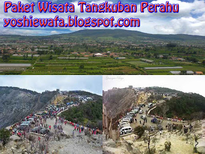 Gunung Tangkuban Perahu Wisata Favorite Bandung