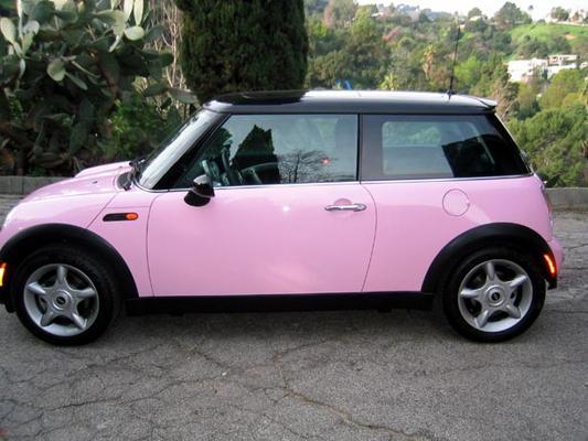 get it in pink everything pink pink mini cooper. Black Bedroom Furniture Sets. Home Design Ideas
