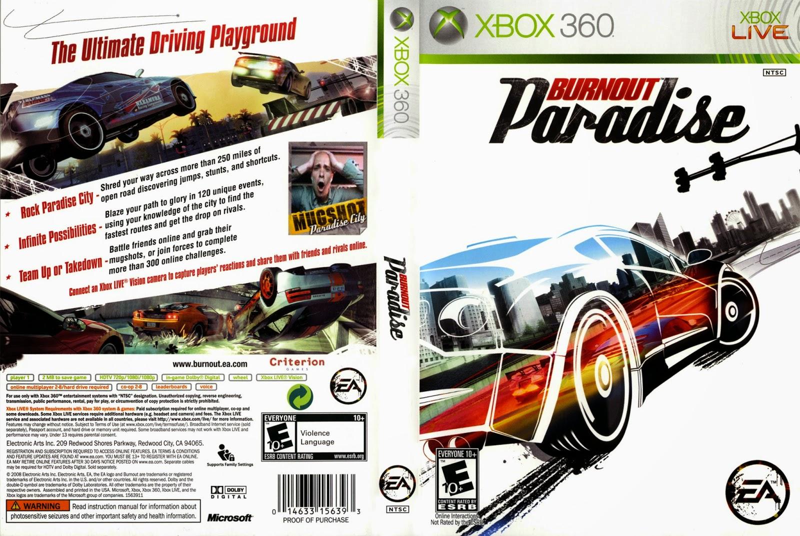 Burnout: Paradise - The Ultimate Box: Xbox 360: Amazon.de ...