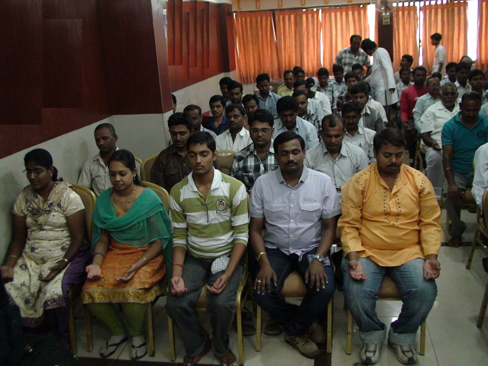 THE ART OF LIVING CENTRE , HABSIGUDA, HYD.: Meditation ...