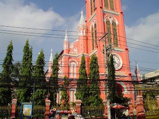 Rosa Igreja Cristã. Saigon - Vietnã